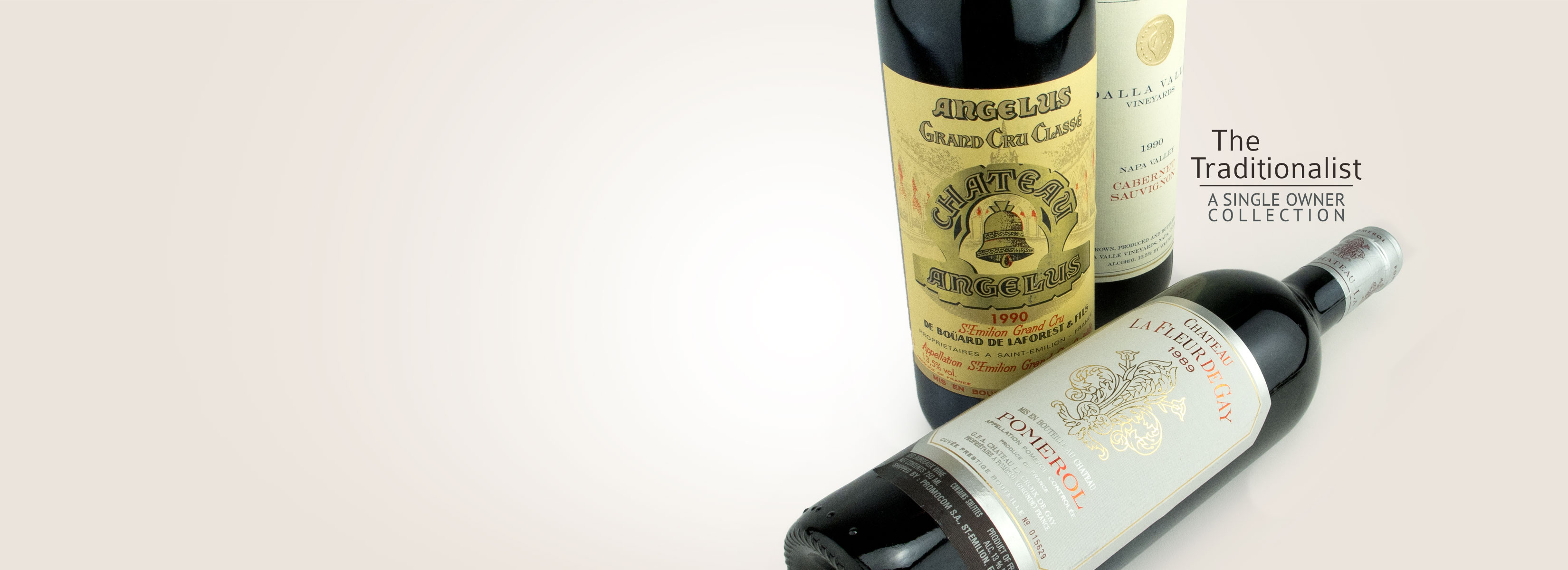 1982 Lafite, 1986 Leoville Las Cases and Stags Leap Cask 23