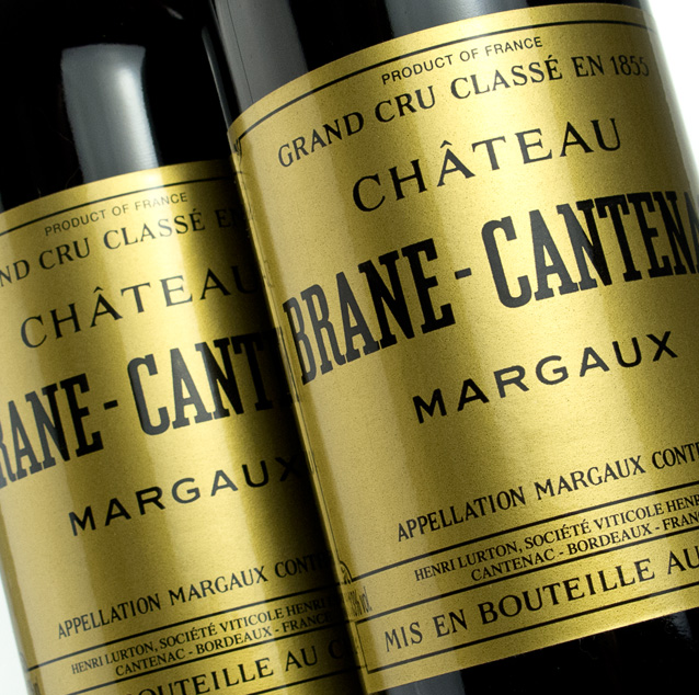 View Wines from Brane Cantenac