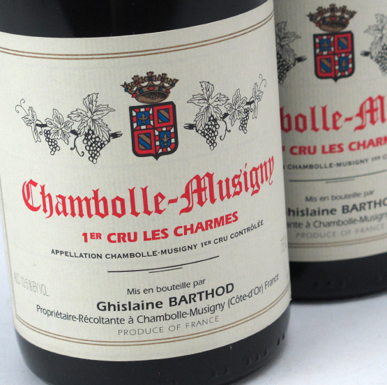 View All Wines from Barthod, Ghislaine