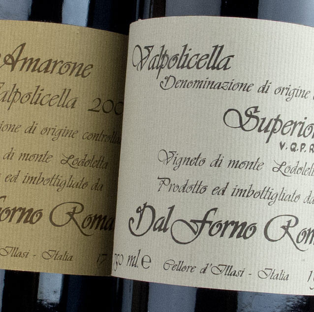 View All Wines from Dal Forno