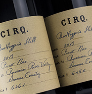 Cirq Pinot Noir Treehouse Vineyard 2013